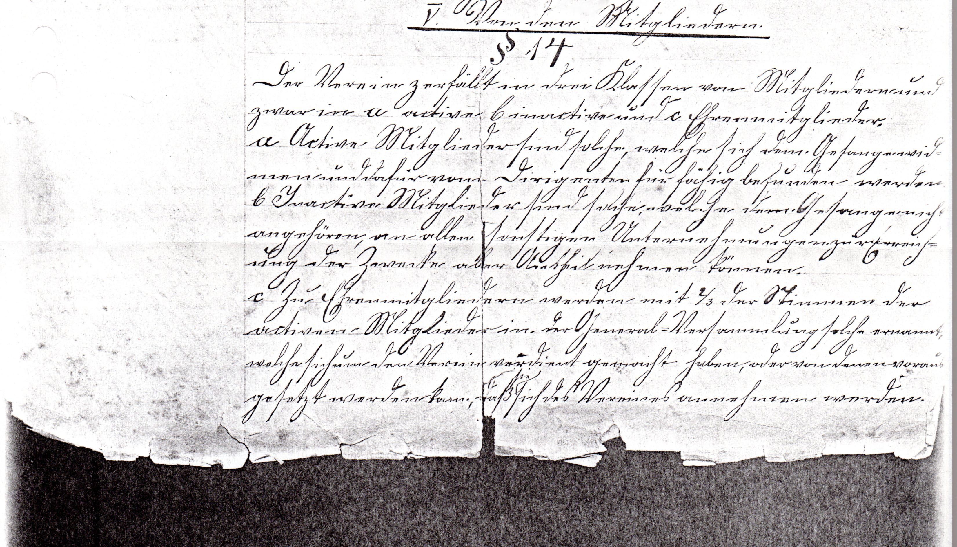 Statuten 1882 Bl. 3/2