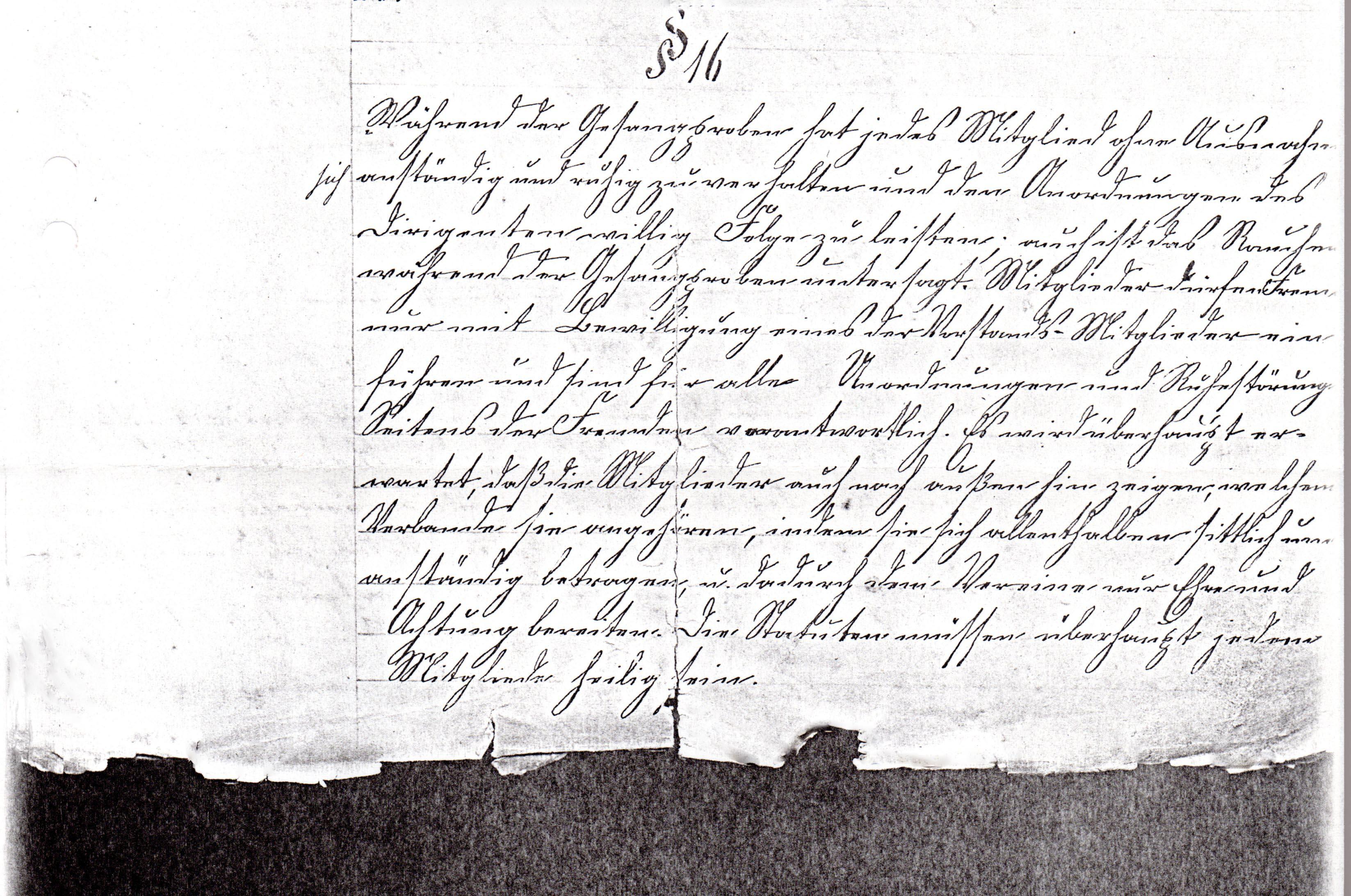Statuten 1882 Bl. 4/2