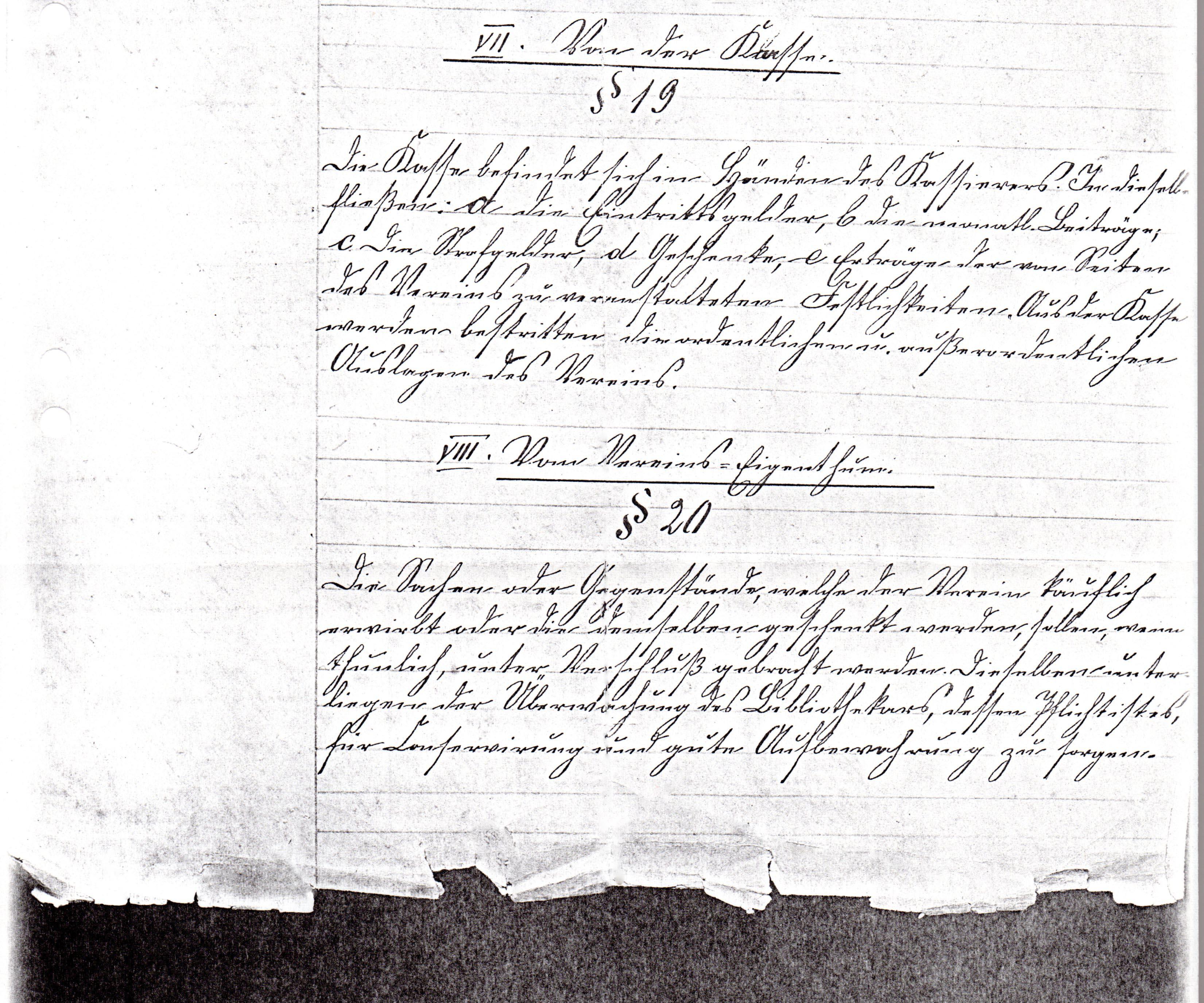 Statuten 1882 Bl. 5/2