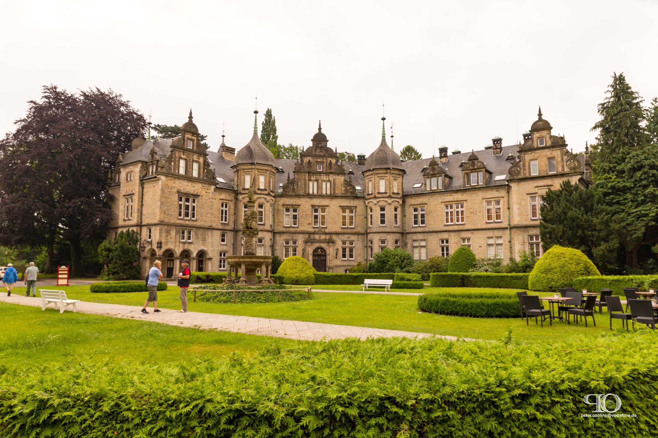 Seitengebaeude zum Schloss Bueckeburg