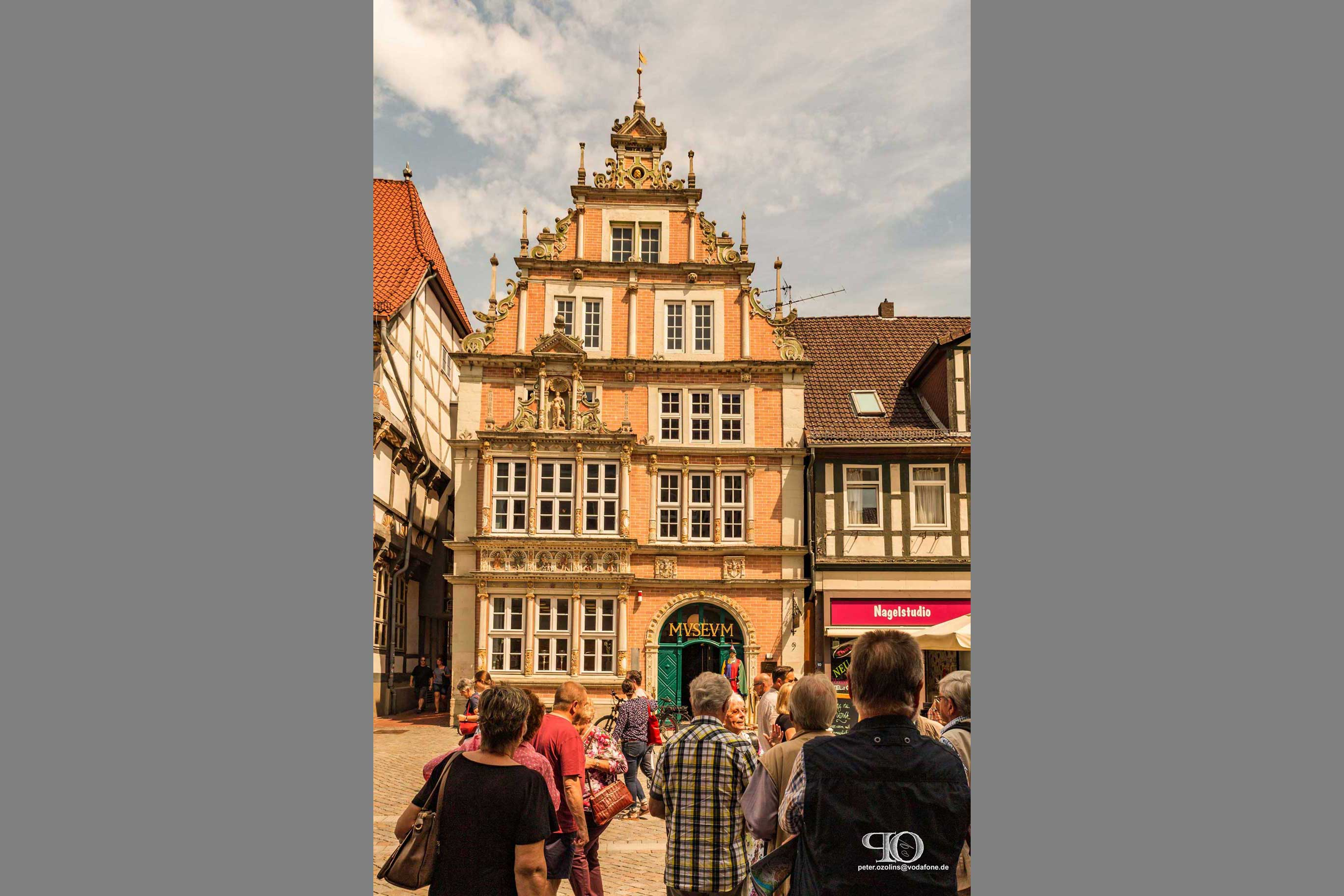Stadtfuehrung Hameln /Rattenfaenger-Museum